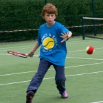 primary school kids tennis coaching